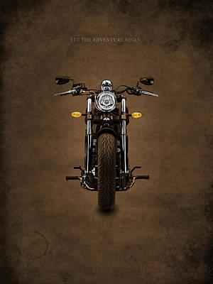 Harley Davidson Photograph - Let The Adventure Begin by Mark Rogan