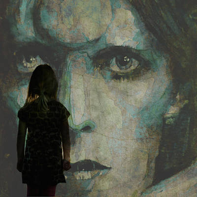 David Bowie Painting - Let The Children Lose It Let The Children Use It Let All The Children Boogie by Paul Lovering
