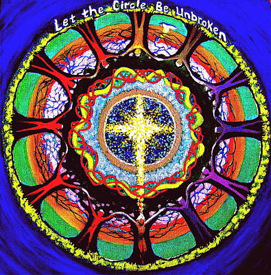 Let The Circle Be Unbroken Art Print by Jeanette Jarmon