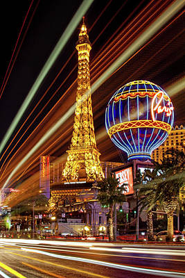 Paris Skyline Photograph - Let The Fun Begin by Az Jackson