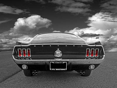 Photograph - Let The Good Times Roll - 1967 Mustang Fastback by Gill Billington