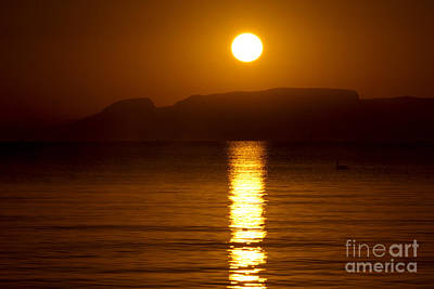 Sunrise Photograph - Let The Rays Shine Through Him by James Brown