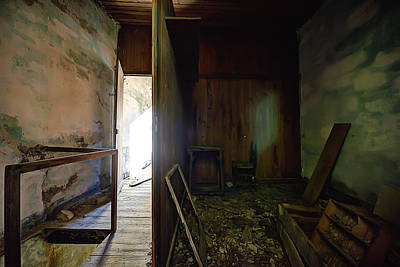 Photograph - Let The Sun Shine In The Zoagli Abandoned Home by Enrico Pelos