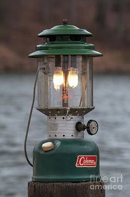 Gas Lamp Photograph - Let There Be Light - D010029 by Daniel Dempster