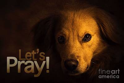 Digital Art - Let Us Pray-3 by Kathy Tarochione