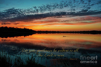 Photograph - Let Your Gentleness Be Evident by David Arment
