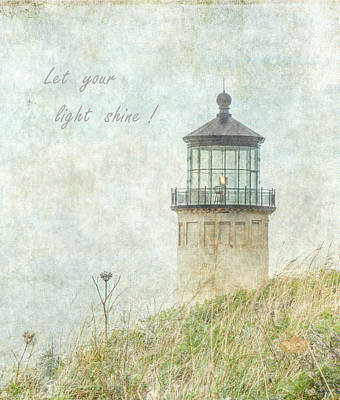 Photograph - Let Your Light Shine by Angie Vogel