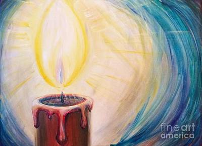 Painting - Let Your Light Shine by Lisa DuBois