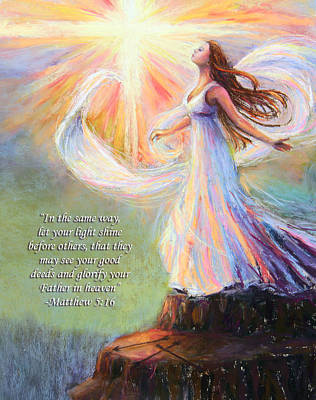 Pastel - Let Your Light Shine by Susan Jenkins