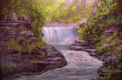 Painting - Letchworth State Park by Michael Mrozik