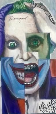 Jared Leto Painting - Leto Joker by Scott Pallack