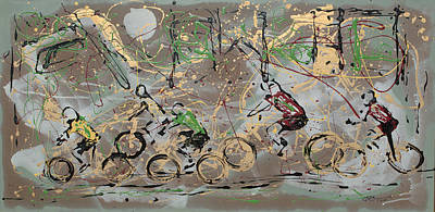 Mixed Media - Letour by J R Seymour