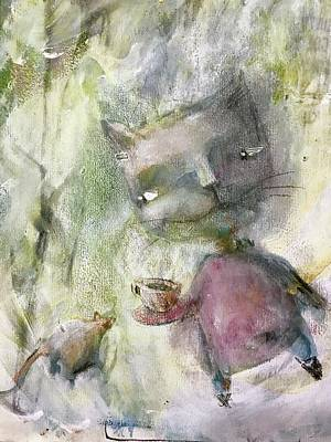 Mixed Media - Let's Be Friends by Eleatta Diver