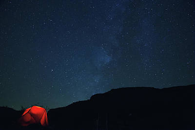 Photograph - Lets Camp Under The Stars by Kunal Mehra