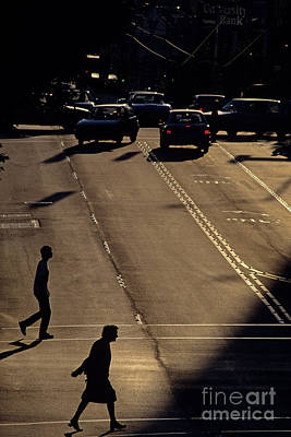 Photograph - Lets Cross The Street Together by Jim Corwin