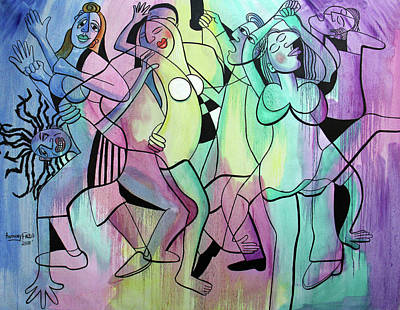 Painting - Lets Dance by Anthony Falbo
