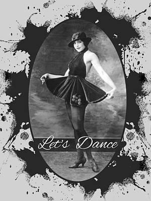 Digital Art - Lets Dance by Robert G Kernodle