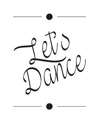 Let's Dance Art Print