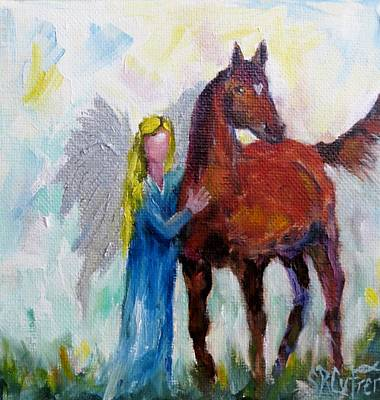 Painting - Let's Fly by Sandra Reeves