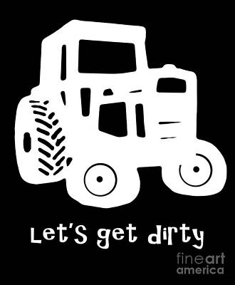 Let's Get Dirty Art Print by Edward Fielding