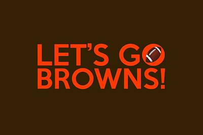 Painting - Let's Go Browns by Florian Rodarte