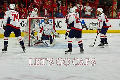 Photograph - Lets Go Caps by Lisa Wooten