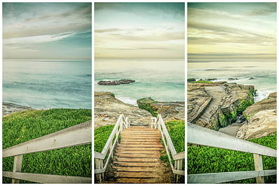 Photograph - Let's Go Down To Windansea by Joseph S Giacalone