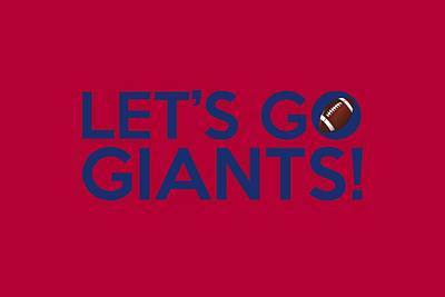 Painting - Let's Go Giants by Florian Rodarte