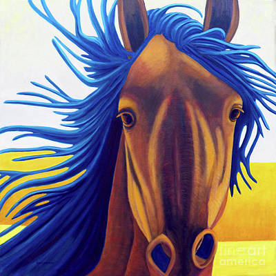 Painting - Let's Go - Let's Go by Brian  Commerford
