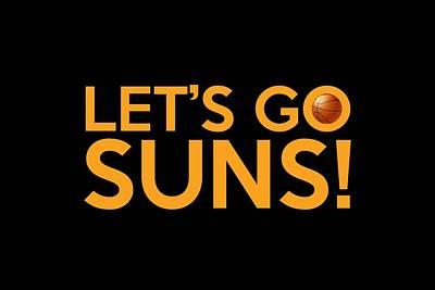 Painting - Let's Go Suns by Florian Rodarte