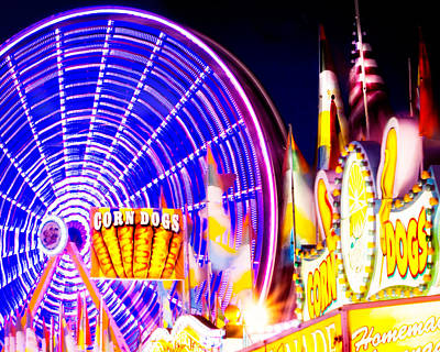 Photograph - Let's Go To The Midway by Mark Andrew Thomas