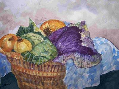 Painting - Let's Make Soup by Sandy Collier
