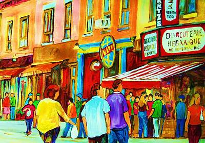 Painting - Lets Meet For Lunch by Carole Spandau