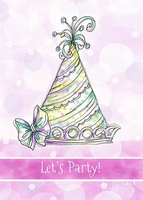 Vale Mixed Media - Let's Party by Pam Vale