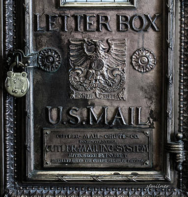 Photograph - Letter Box Drop by Steven Milner