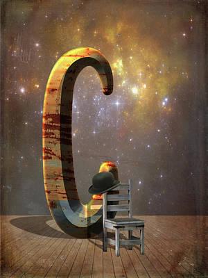 Letter C Art Print by Mihaela Pater