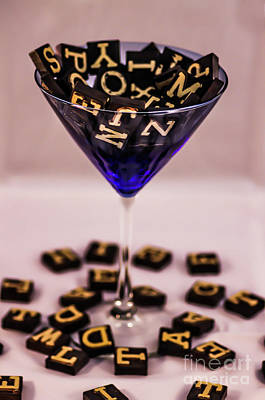 Photograph - Letter Ccoctail by Gerald Kloss