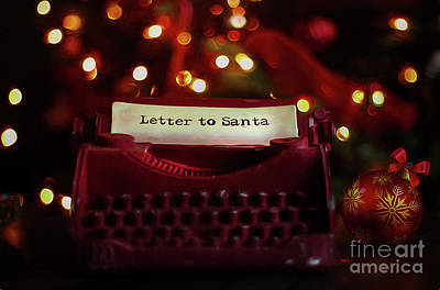 Photograph - Letter To Santa by Darren Fisher