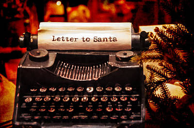 Photograph - Letter To Santa by Susan McMenamin
