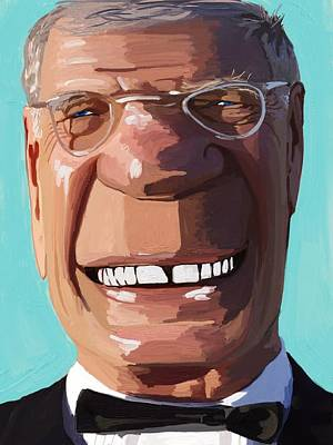 Letterman Painting - Letterman by Jim Faris