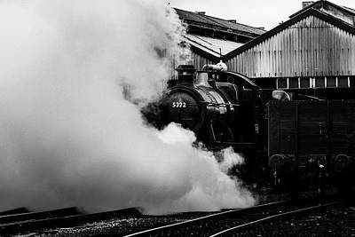 Photograph - Letting Off Steam by Ken Brannen