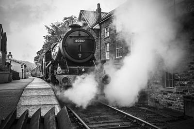 Photograph - Letting Off Steam by Stewart Scott