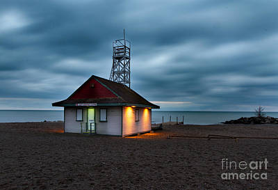 Photograph - Leuty Life Saving Station by Jim Crawford