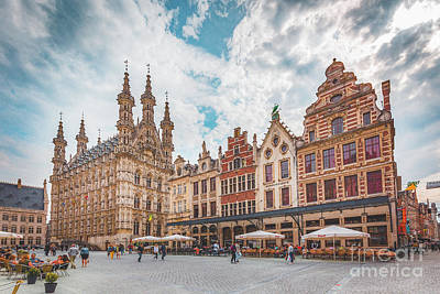 Photograph - Leuven by JR Photography