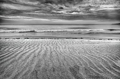 Tarifa Photograph - Levante Wind Bw by Guido Montanes Castillo