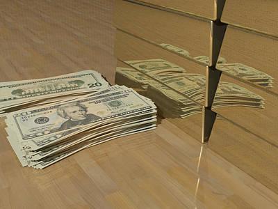 Level One Money Manifestation  Art Print