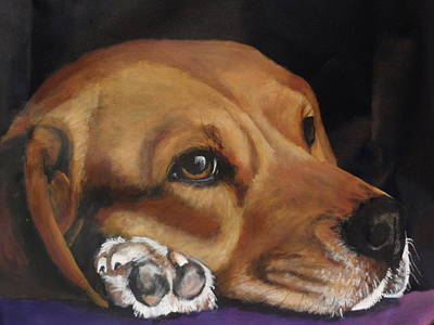 Painting - Levi by Carol Russell