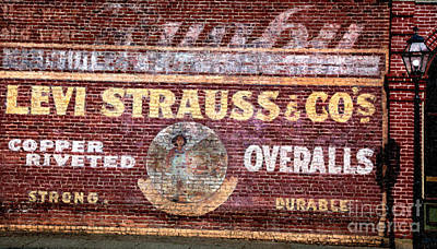 Mixed Media - Levi Strauss And Co. by David Millenheft