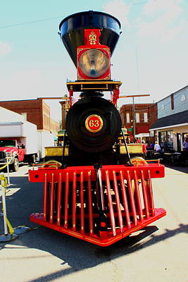 Leviathon Photograph - Leviathon Lincoln's Funeral Train By Earl's Pohotography by Earl  Eells a