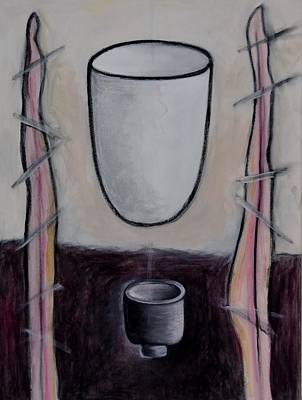 Painting - Levitating Still Life An Oxymoron #2 by Rosemary Healy